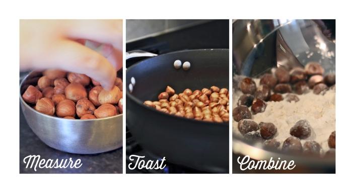 toasted hazelnuts process